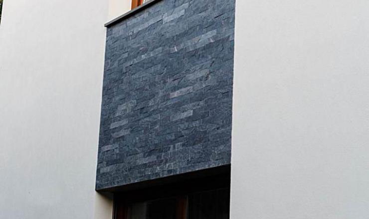 geo Silver Grey kvarcitpala hasított 1,2 cm vastag: 30x4,8x1,2 cm