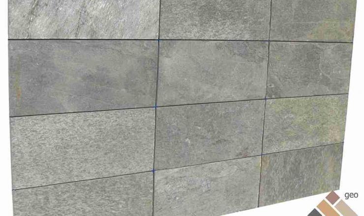 geo Silver Shine hasított 1,2 cm vastag: 60x30 cm