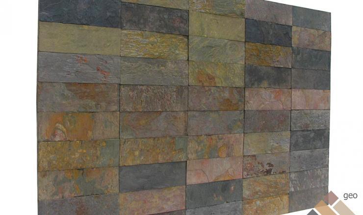 geo Peacock pala kőburkolat 1,2 cm vastag: 30x10 cm
