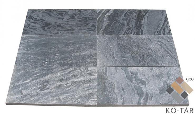 geo Silver Grey kvarcitpala polírozott 1,2 cm vastag: 60x30 cm