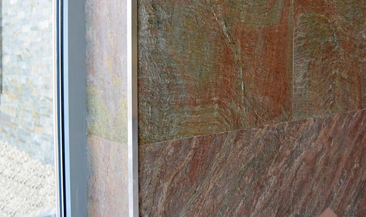 Copper (Bronz pala) geo ultravékony kő 1-2 mm vastag: 122x61 cm
