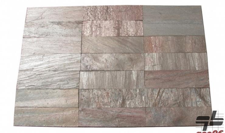 AKCIÓS geo Copper csillámpala 60x10 cm és 40x10 cm; 2,5 m2