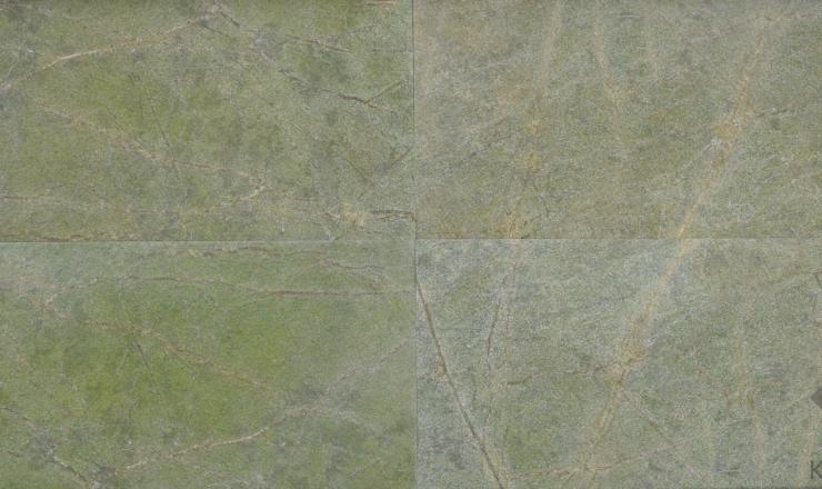 Rainforest Green geo ultravékony kő 1-2 mm vastag: 122x61 cm