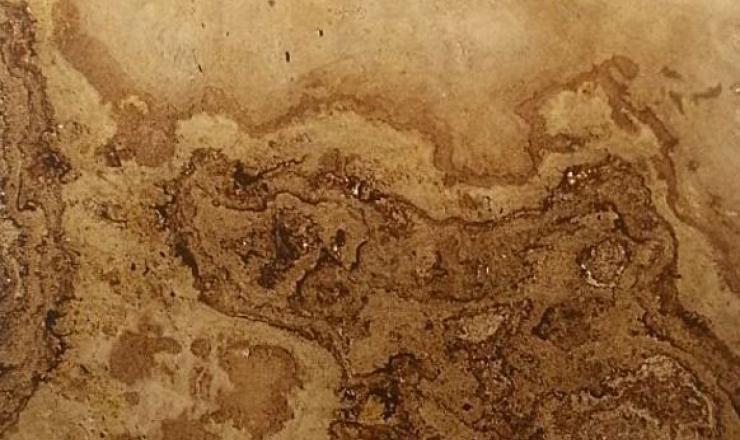 Tan Brown átvilágítható geo ultravékony kő 1-2 mm vastag: 122x61 cm