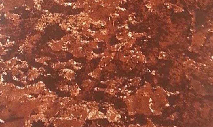 Terra Red átvilágítható geo ultravékony kő 122x61 cm
