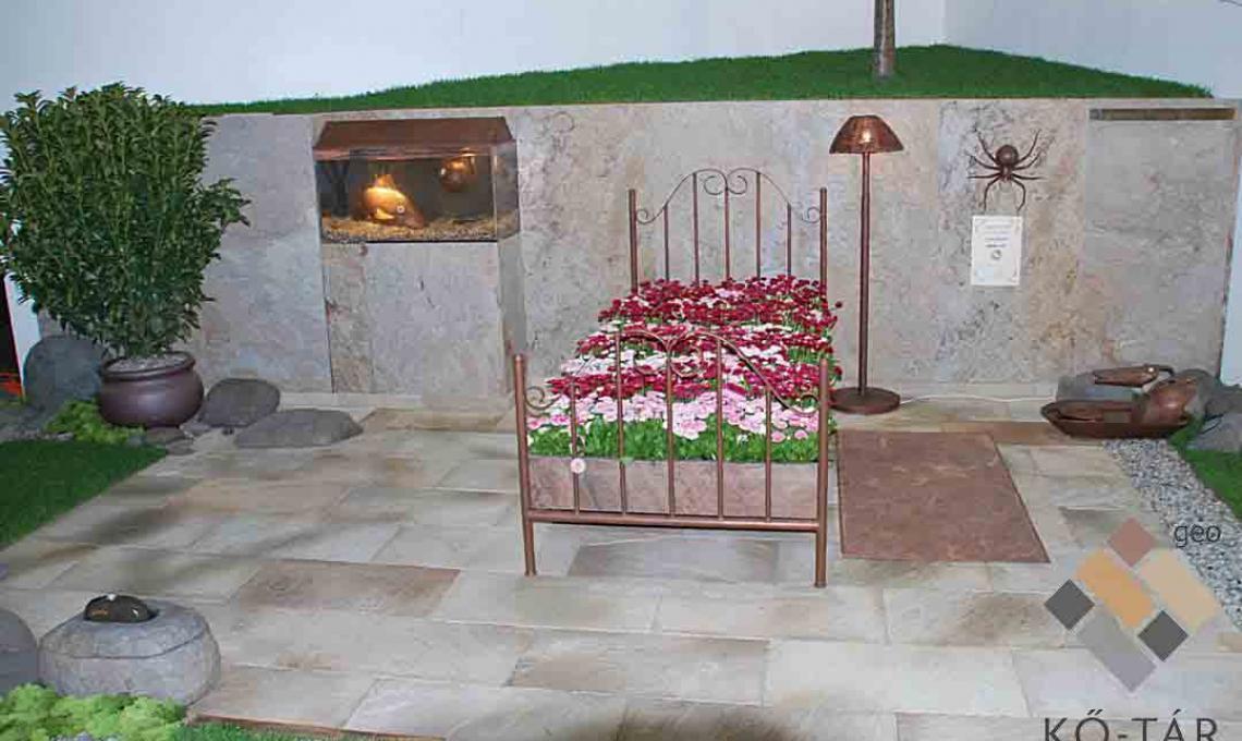 geo Indian Summer kvarchomokkő Natúr 1,2 cm vastag:60x30 cm és Indian Autumn Ultravékony kő