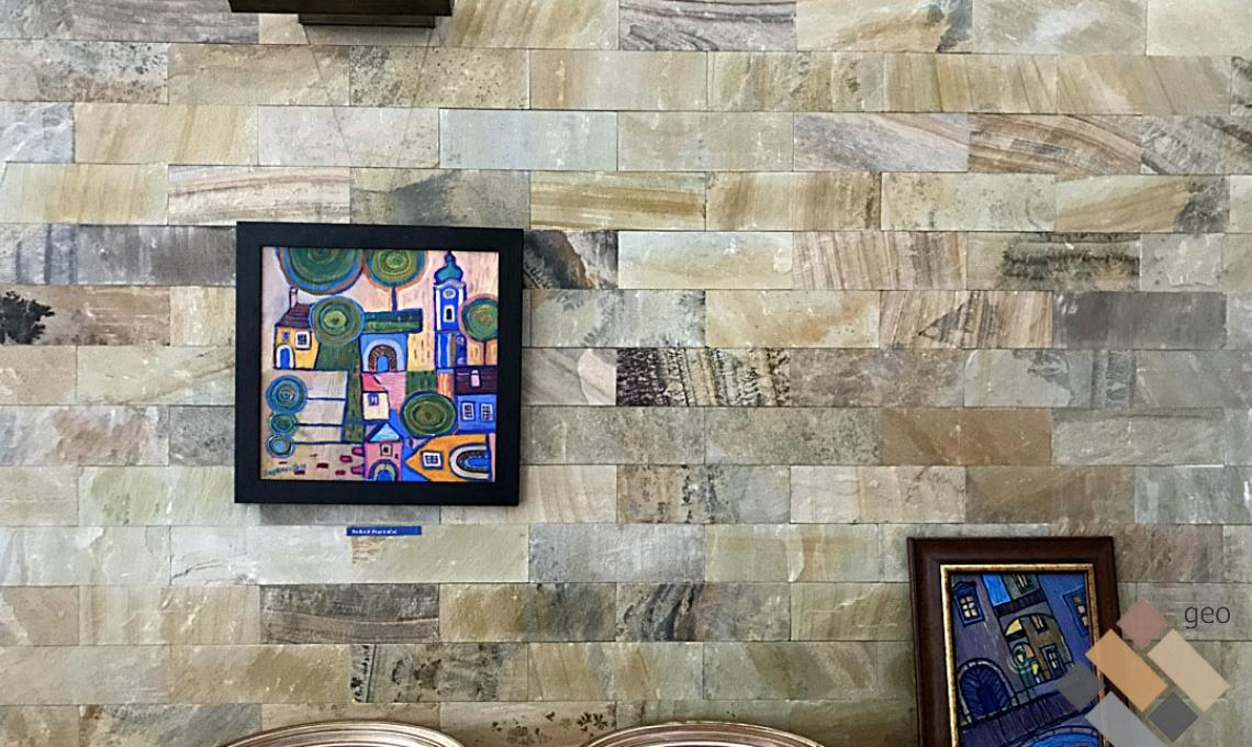 geo Indian Summer kvarchomokkő Natúr 1,2 cm vastag:30x10 cm