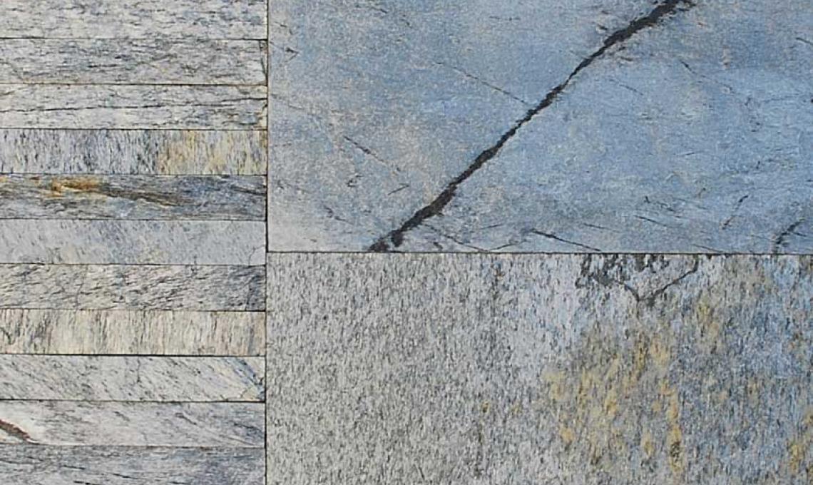 geo Silver Shine hasított 1,2 cm vastag: 60x30 cm és 30x4,8 cm