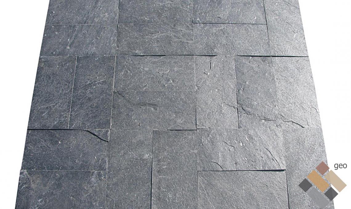 geo Silver Grey kvarcitpala hasított 1,2 cm vastag: 30x10 cm