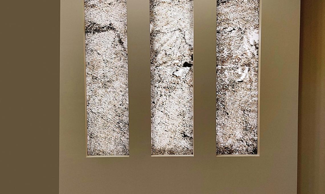 Gold Green átvilágítható ultravékony kő 1-2 mm vastag: 122x61 cm