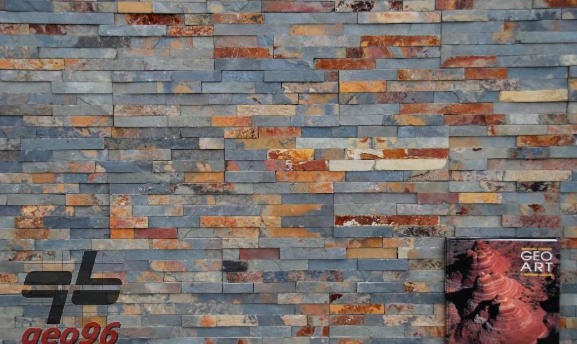 October (020) geo természetes kőpanel 60x15x1,2-2,5 cm