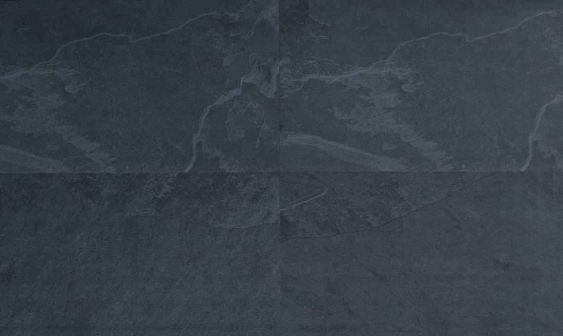 geo-Slim kőporcelán Slate Nero 120x60x0,5 cm