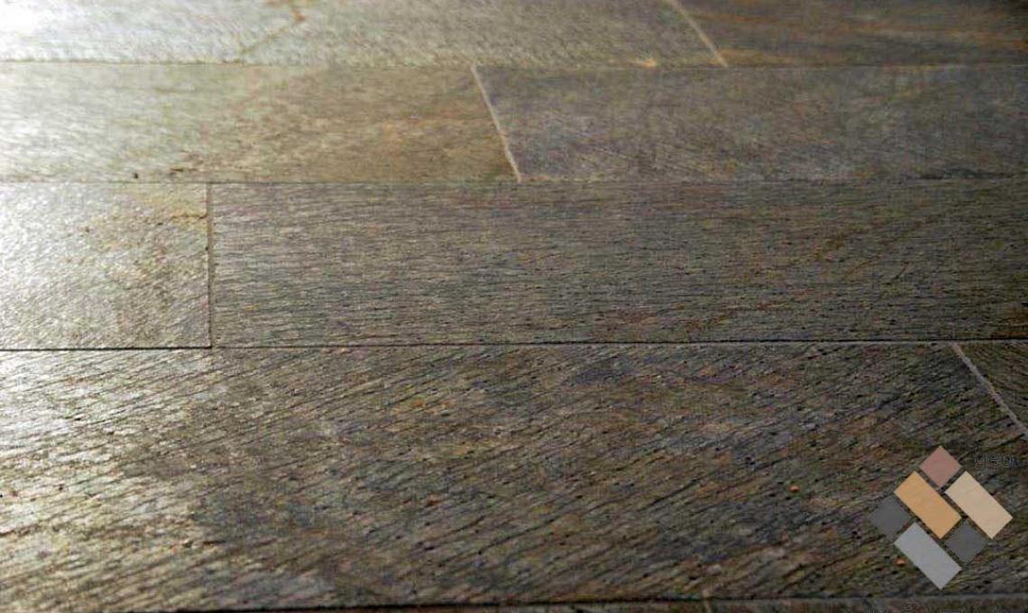 geo Gold Green csillámpala Polírozott (Metál kvarcitpala) 1,2 cm vastag: 60x30 cm