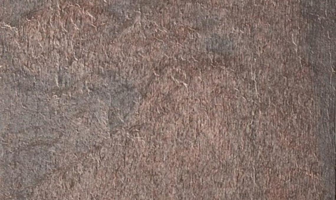 Silk Red (Mély Bronz pala) geo ultravékony kő 1-2 mm vastag: 122x61 cm